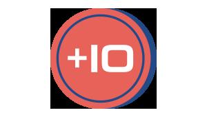 Icono coin 10