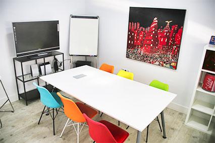Sala de reuniones Dreamsoft - Coworking en Alcorcón